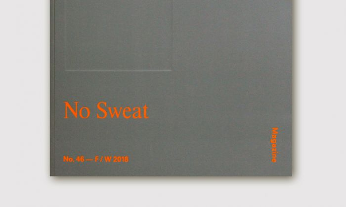 Harvard Design Magazine No. 46, No Sweat, 2018