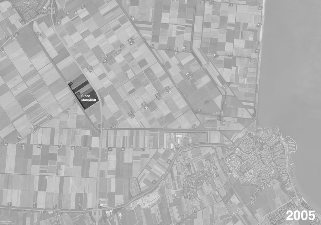 Besides the restructuring of the main road adjacent to his house, very little had changed in the polder structure over the course of 70 years since the polder's reclamation. 